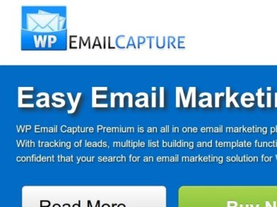 WP Email Capture plug-in for WordPress