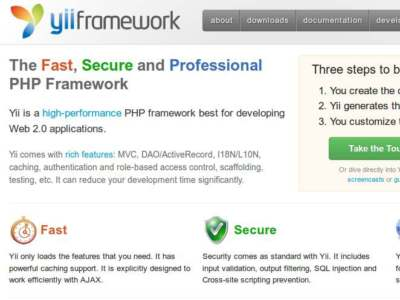 Yii framework – super easy mvc php framework to create curds applications in secconds