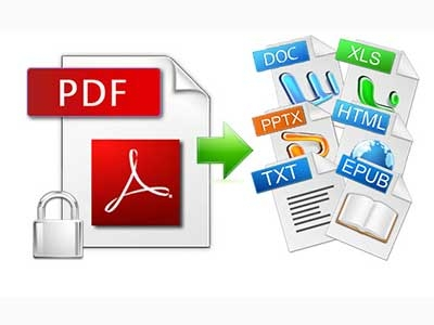 Converting PDF files with a free tool