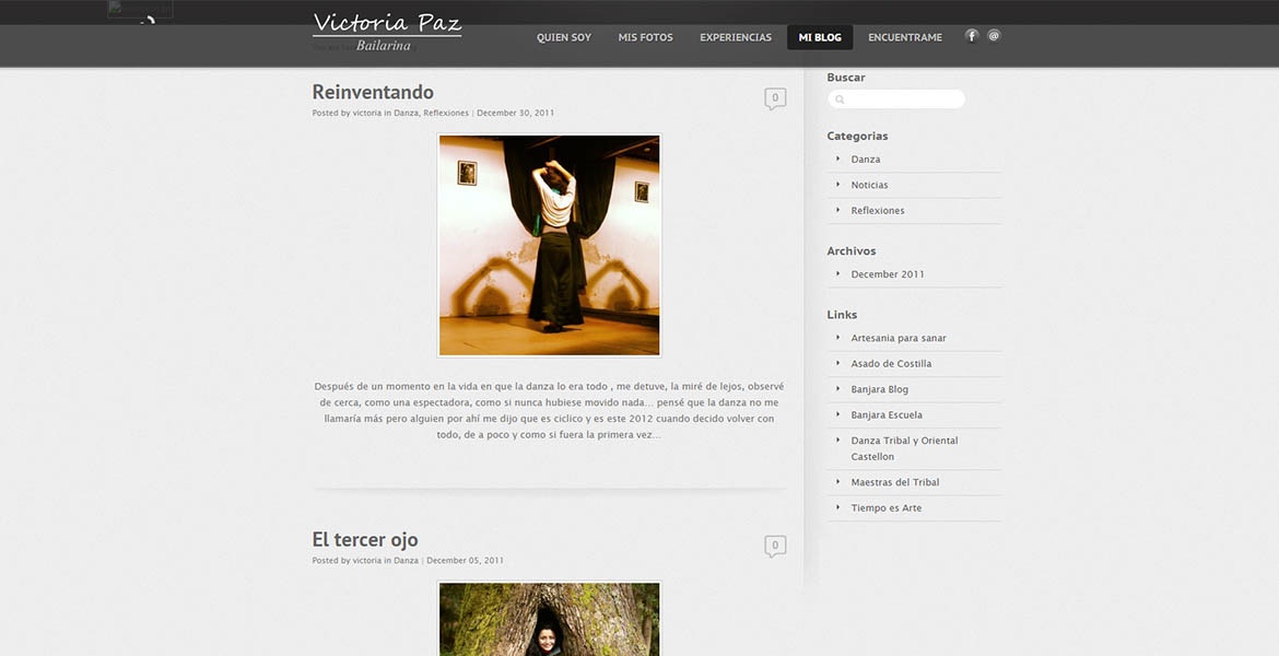 Dancer Promotional Site