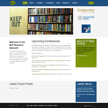 Joomla website for Academic institution